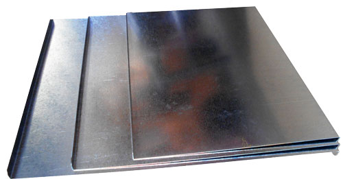 Steel workbench cover sheets