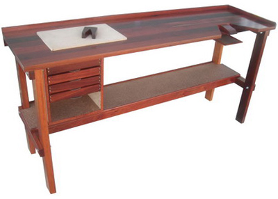 CRAFT DEMOUNTABLE JEWELLERS BENCHTOP FORGE WORK BENCH