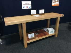 Tasmanian Oak workbench