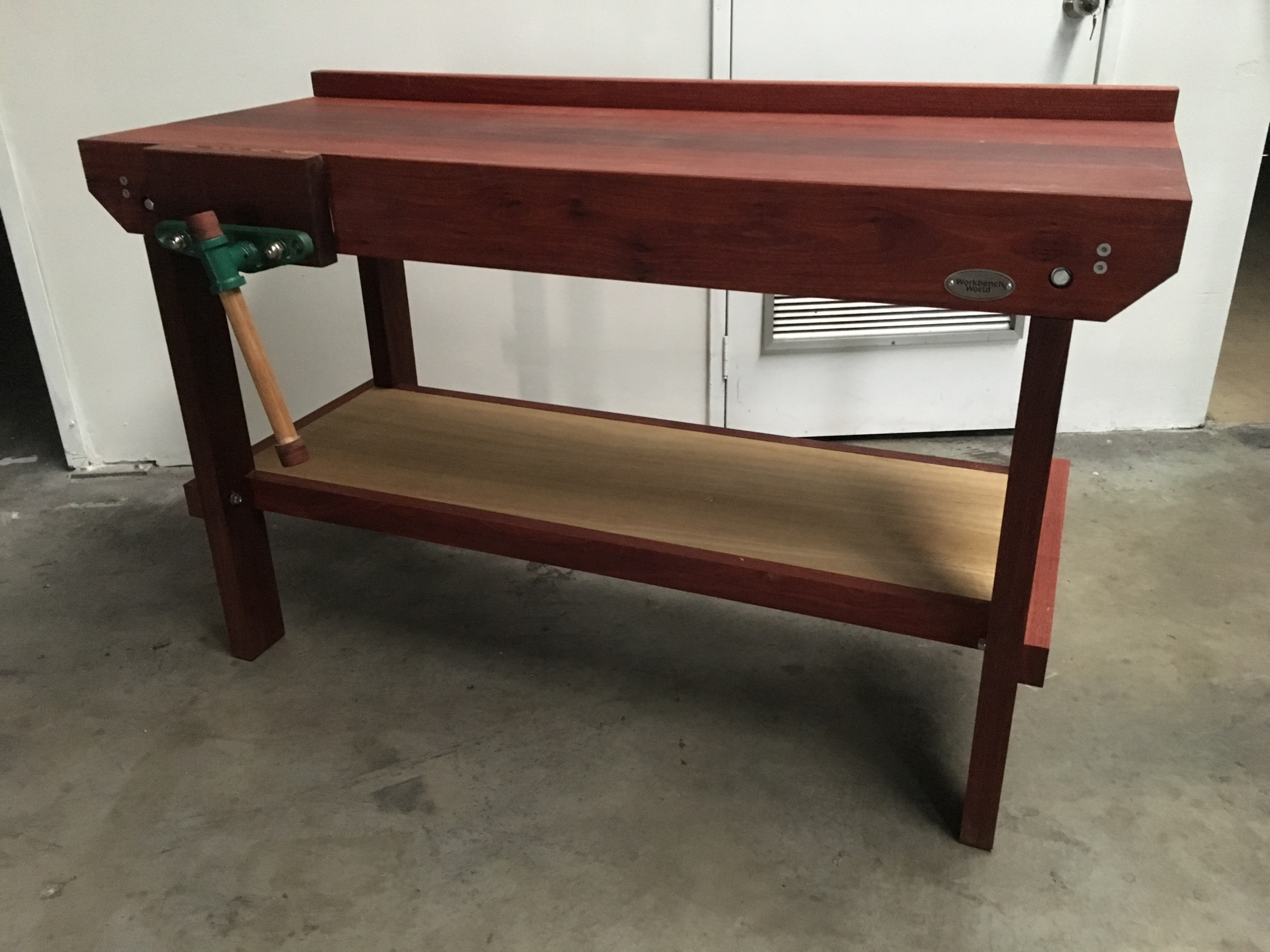 Jarrah workbench